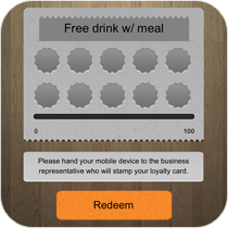 Mobile Loyalty Card Feature