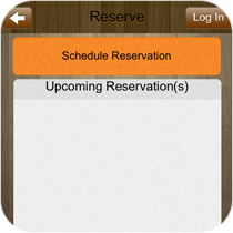 Mobile Reservations System