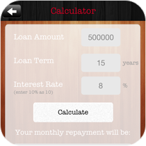 ROS Apps Mortgage Calculator