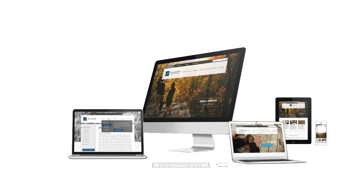 RWD - Responsive Web Design Image