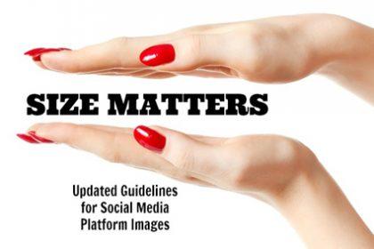 Social Media Image Sizes Matter